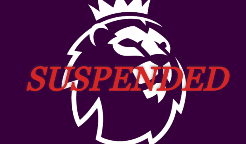 premier league suspended