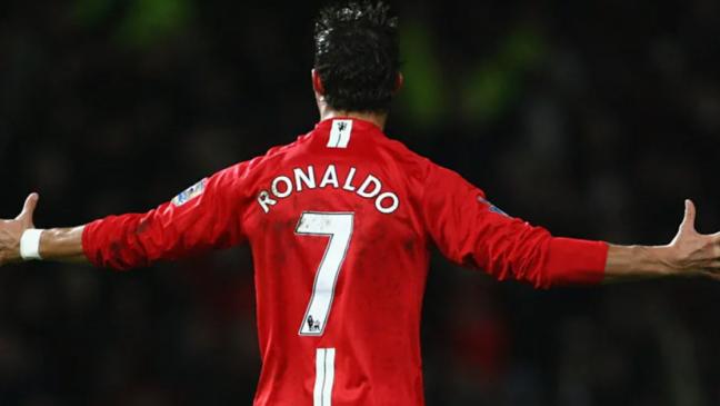 cristiano ronaldo 7 manchester united