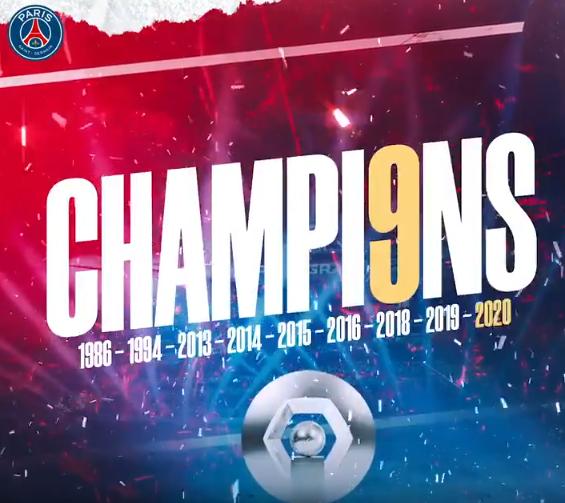 psg champions logo 2020