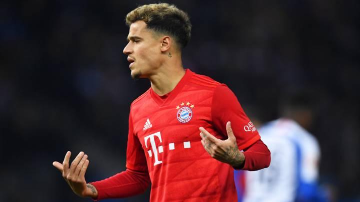 Phillipe Coutinho Bayern Munich