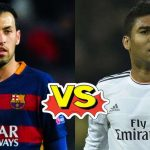 Sergio Busquets vs Casemiro, who has better numbers this season?