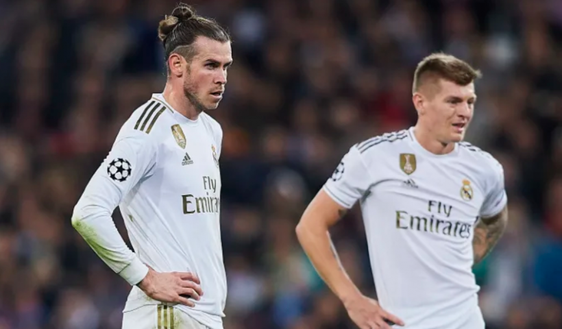 gareth bale and toni kross from real madrid