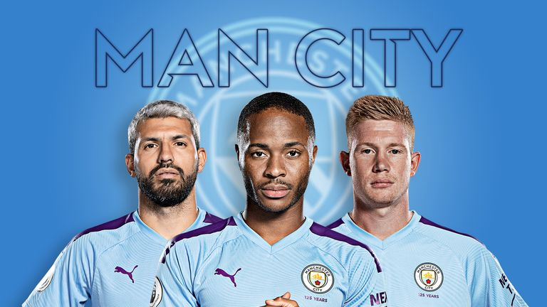 aguero, sterling and kevin de bruyne - manchester city