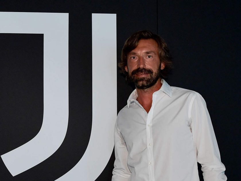 andrea pirlo - juventus new manager