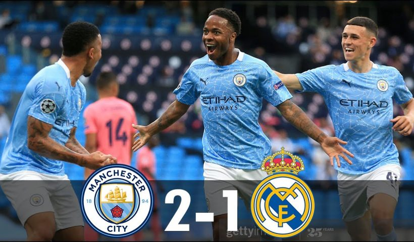 man city vs real madrid 2-1