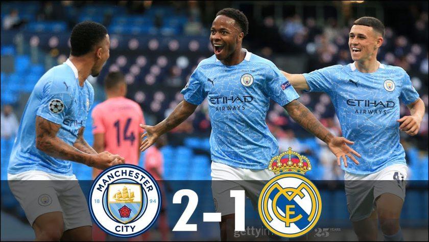 man city vs real madrid 2-1