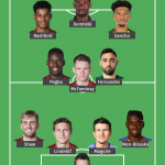 How could Manchester United line up next season?