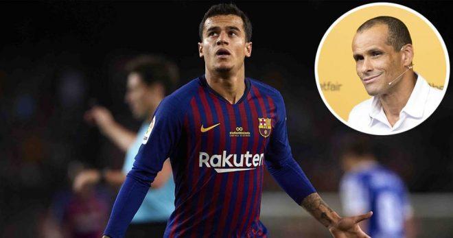 rivaldo about coutinho in premier league