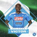 Napoli confirm signing of Nigerian striker Victor Osimhen