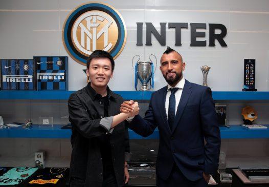 Arturo Vidal inter milan transfer agreed