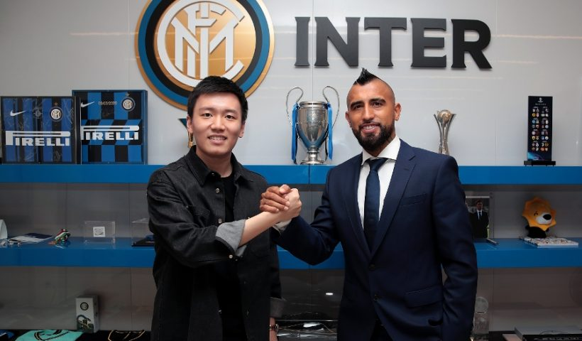 Arturo Vidal inter milan transfer agreed