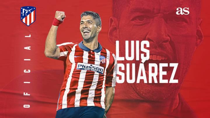 Luis Suarez Atletico Madrid