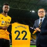 Wolves complete £37m signing of Nelson Semedo from Barcelona