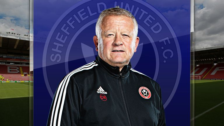 Chris Wilder Sheffield United manager