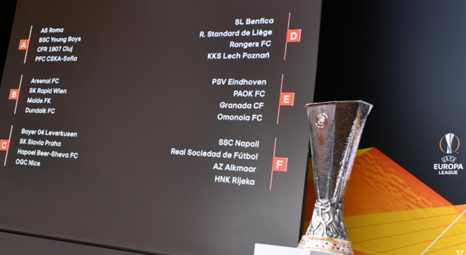 uefa europa league draw 2020