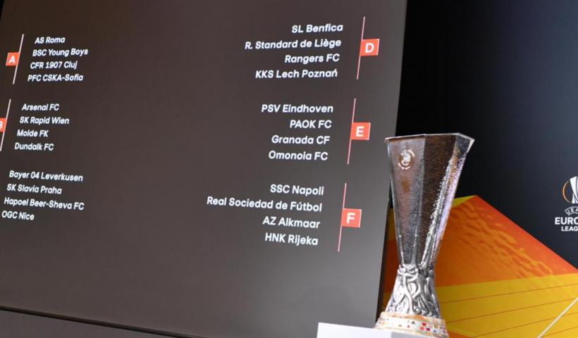 uefa europa league draw 2020