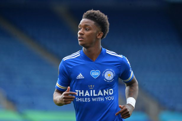 demarai gray from Leicester City