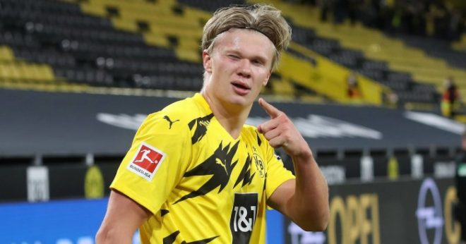 erling haaland possible transfer to manchester united