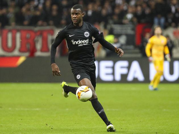 Eintracht Frankfurt's Evan N'Dicka