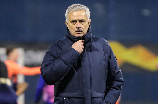 José Mourinho sacked Tottneham