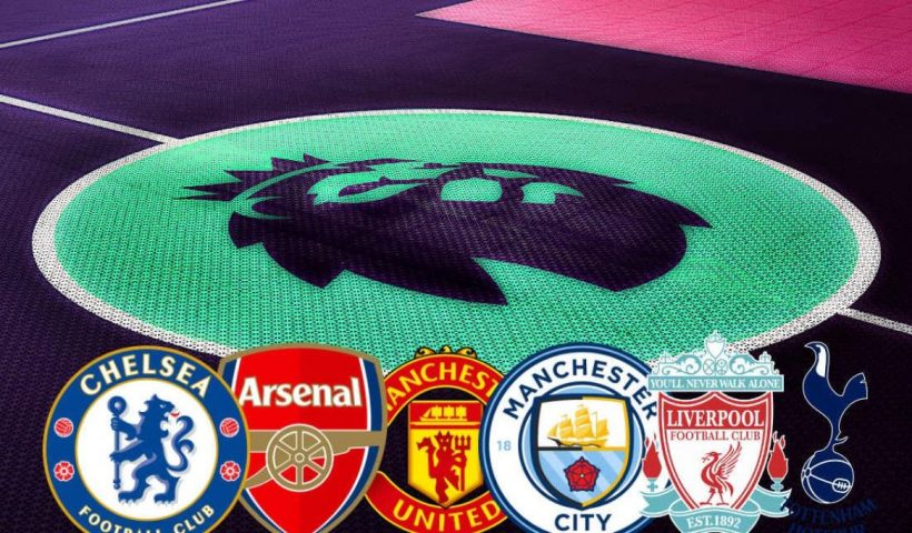 premier league big six teams
