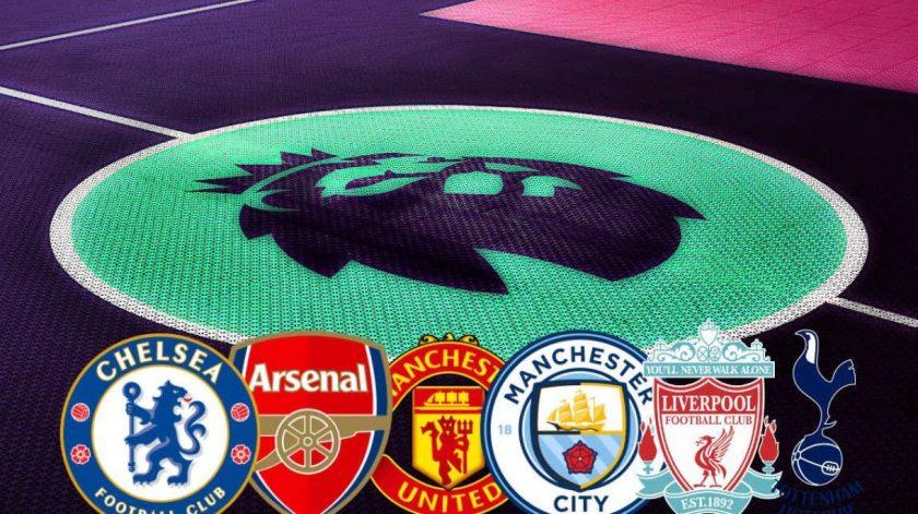 premier league big six teams