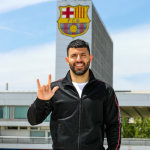 Barcelona sign Sergio Aguero on a two-year contract