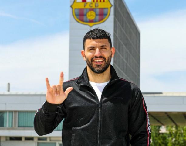 Sergio Aguero FC Barcelona
