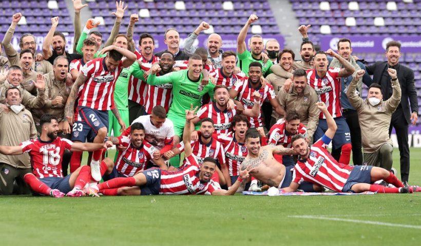 atletico madrid la liga title