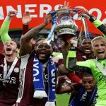 Leicester City Lift FA Cup Trophy