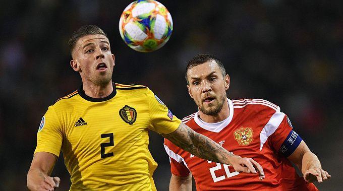 Belgium vs Russia euro 2020