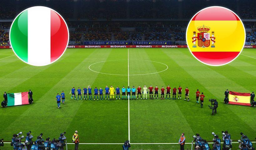 Italy vs Spain euro 2020 semi finals