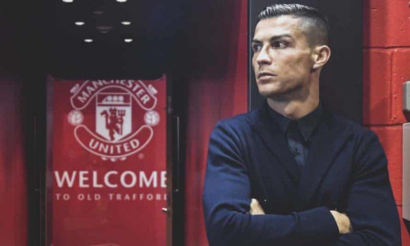 cristiano ronaldo rejoined manchester united