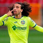 Getafe wing-back Marc Cucurella on his way to Brighton