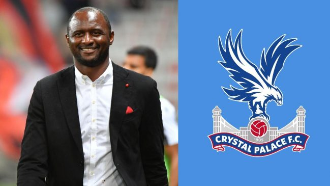 Manager Patrick Vieira (Crystal Palace)