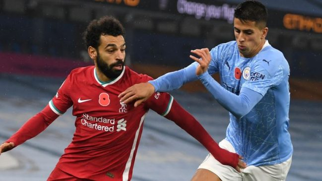 Joao Cancelo vs Mohamed Salah